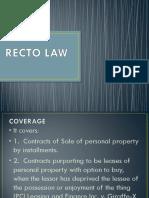 RECTO LAW