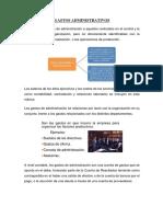 Concepto de Gastos Administrativos y Ventas