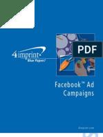 Facebook Ad Campaigns Blue Paper