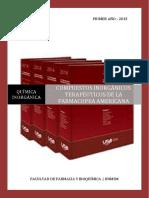 Seminario de Compuestos Inorgánicos de La Farmacopea Americana