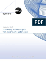 White Papers Dell Egenera - Maximizing Business Agility