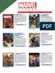 Catálogo Septiembre 2017 Marvel