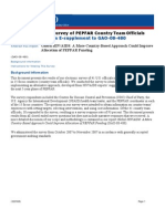 PEPFAR Country Managers Survey/Peace Corps Volunteers program