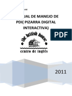 Manual de Manejo de Pdi