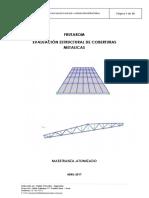Informe de Evaluacion Estructural Cobertura Metalica