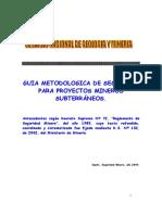 Guia Metodologica Seguridad Proyectos Subterranea