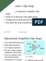 L01 Operational Amplifier