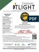 Employer Spotlights July 2017