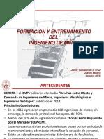 Formación Ing. de Minas