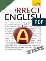 Teach Yourself Correct English