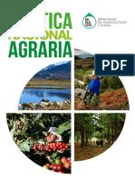 Política Nacional Agraria 2016