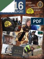Utah Highway Patrol 2016 Annual Report Final