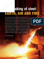 Making of Steel