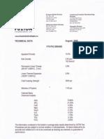 F70 PH3 70% Alumina Brick Specs