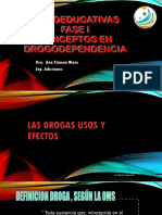 Psicoeducativas Fase i Efectos Farmacos y Conceptos Sustancias Legales e Ilegales