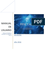Manual de Usuario Metadoc Ver 1.0