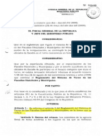 Reglamento de Turno Distritales y Municipales