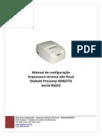 Manual Config Diebold Im 402 Td