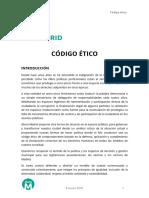 Ahoramadrid Codigo Etico 0309