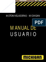 Manual Motoniveladoras