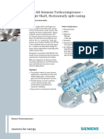 Turbocompressor Single Shaft Siemens Nuevo