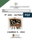 Caderno 5 - 5º ano - matemática 2010.pdf