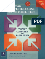 Complete course for the TOEFL test