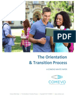 The Orientation Transition Process White Paper