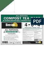 ALL NATURAL COMPOST TEA BAGS