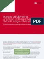 Brosura Institutul de Marketing 2015