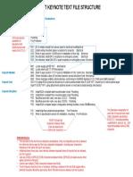 Keynotes Syntax