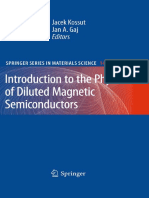 (Springer Series in Materials Science 144))-Introduction to the Physics of Diluted Magnetic Semiconductors-Springer-Verlag Berlin Heide