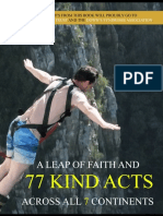 "Excerpt From Book ""A Leap of Faith and 77 Kind Acts Across all 7 Continents"""