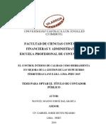 Control Interno Gestion Mype Jorge Balabarca Manuel Magno Lima 2016