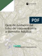 Guía de Cuidados Del Tubo de Traqueostomía a Domicilio Adultos