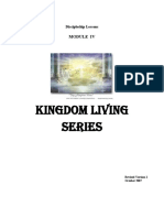 Growth Series 4- Kingdom Living Course