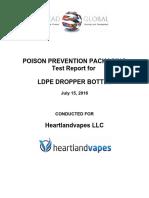 LDPE Dropper BottleS Test Report for Heartland (2)