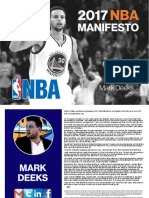 2017 NBA Manifesto - Mark Deeks