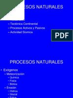 6 Procesos Naturales
