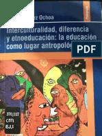 Interculturalidad, Diferencia y Etnoeducación