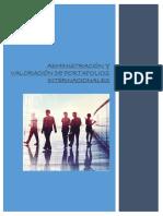 Admnistracion y Valoracion de Portafolios