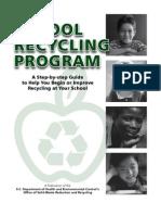 Starting a School recycling Program