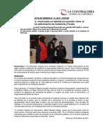 NP13-2017 | Alcalde de Cuenca – Huancavelica es detenido por presunta 'coima' en operativo anticorrupción de Contraloría y Fiscalía