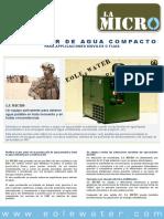 LA MICRO Specification Sheet ES