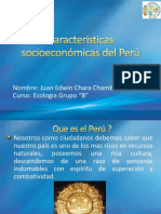 Caracteristicas Socioeconómicas Del Perú