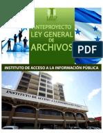 Anteproyecto de Ley de Archivos en Honduras