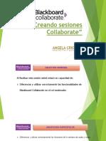Creando Sesiones Collaborate