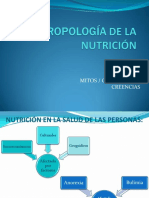 Antropología de La Nutrición