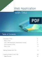3 Tizen Web App Dev Tau Tizen Studio