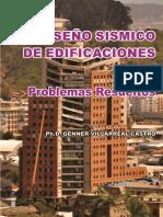 Diseño Sísmico de Edificaciones; Problemas Resueltos - Genner Villarreal Castro (1ra Edición)